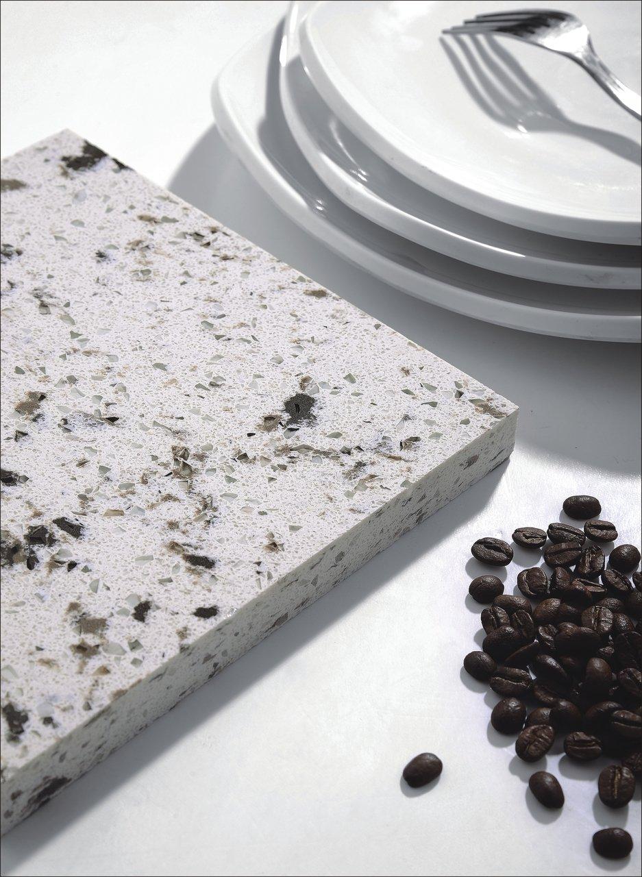 Quartziano Ultimate Countertop Surface Fudge Truffle 551020