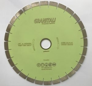 16 Inch Diamond Blade For Granite Silent Type