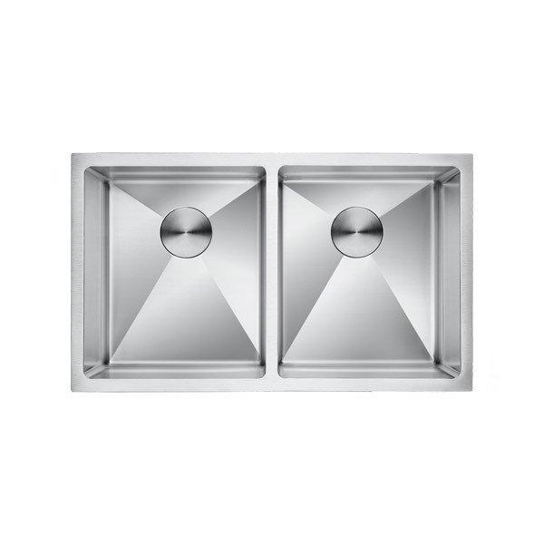 Lottare 200104 Double Bowl Stainless Steel Kitchen Sink 50/50