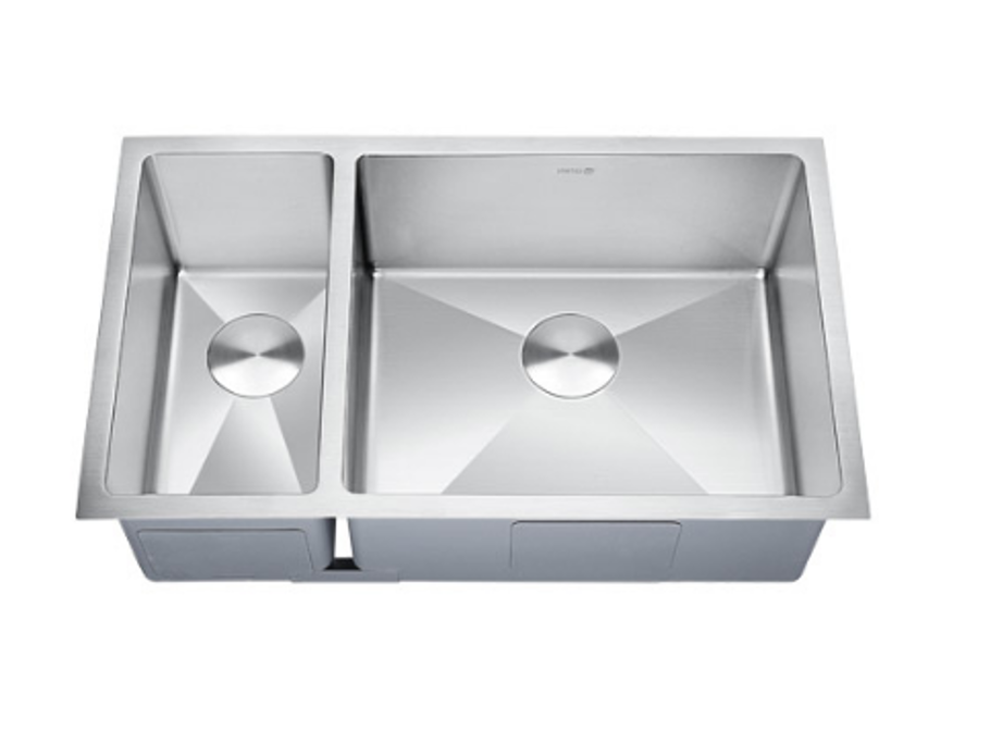 LOTTARE 200106-R Double Bowl Stainless Steel Kitchen Sink 30/70