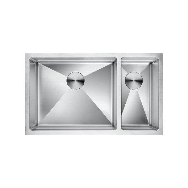 LOTTARE 200106 Double Bowl Stainless Steel Kitchen Sink 70/30