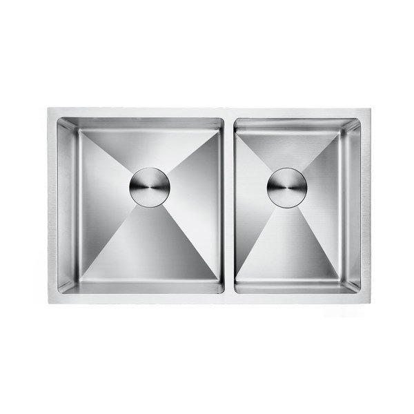 Lottare 200107 16G Double Bowl Stainless Steel Kitchen Sink 60/40