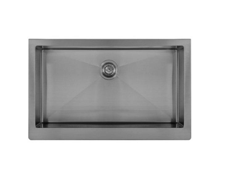 Lottare 200113 Single Bowl Stainless Steel Farmhouse Sink