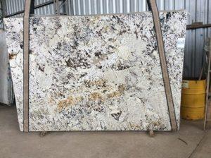 Everest White Granite Slab 3cm In stock