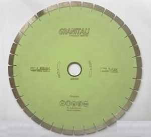 20 Inch Diamond Blade For Granite Silent Type