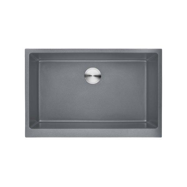 Lottare 700113 Single Bowl Granite Composite Kitchen Farmhouse Sink