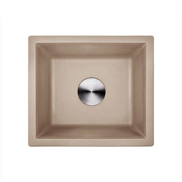 Lottare 700108GI Undermount Composite Granite Bar Sink Gillo