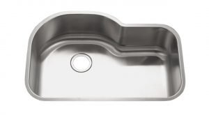 3221LD Stainless Steel Single Bowl Offset Kitchen Sink