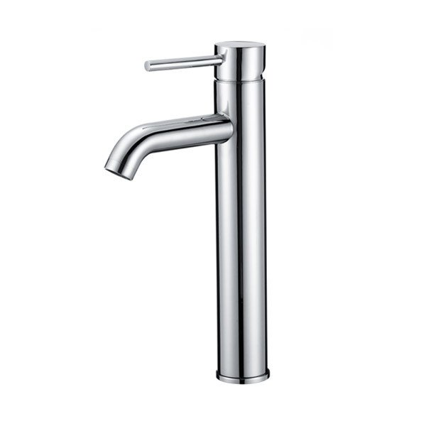 LOTTARE 800135-CH Single Handle Stainless Steel Bathroom Faucet
