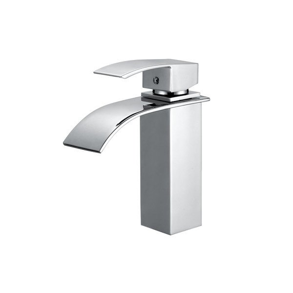 LOTTARE 800137-CH Single Handle Stainless Steel Bathroom Faucet