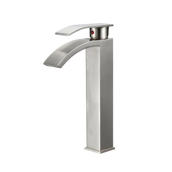 LOTTARE 800138 Single Handle Stainless Steel Bathroom Faucet (Available in Chrome and Brushed Nickel)