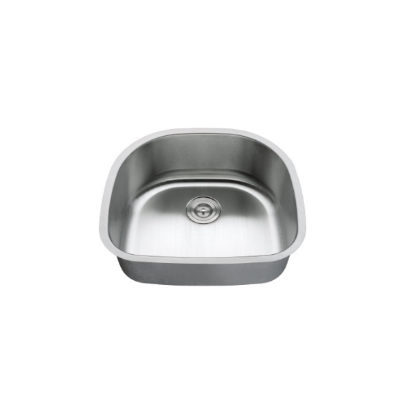 LOTTARE 900102 Single Bowl Stainless Steel Bar Sink