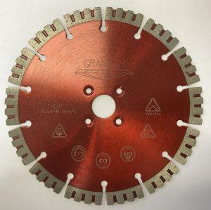 7 Inch Crown Turbo Cutter/Blade