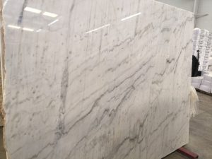 Premium Quality Alaska White Marble Slab 3cm and 2cm Available