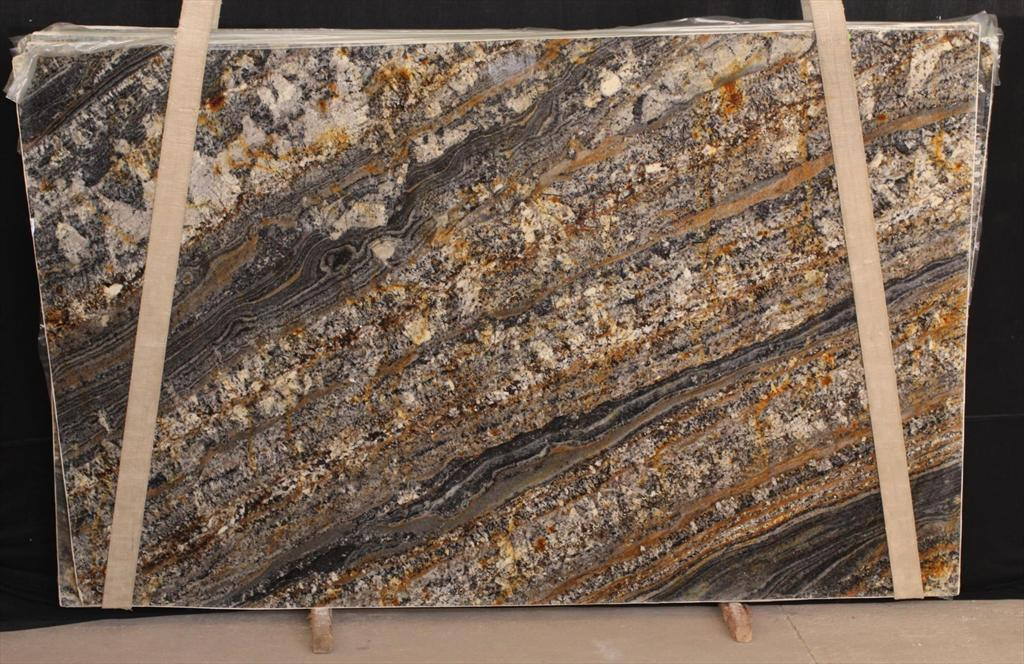 Audax Brown Granite Slab 3cm In stock