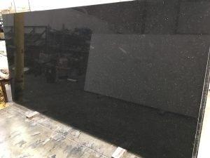 Quartziano Ultimate Countertop Surface Black Galaxy Quartz 551056
