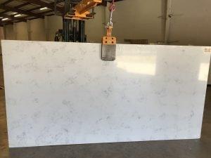 Quartziano Ultimate Countertop Surface  Carrara Real quartz 553021