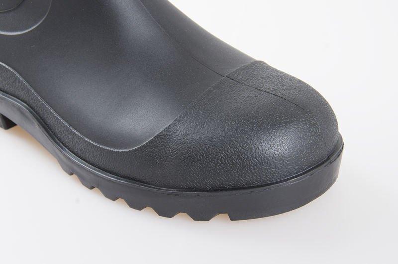 8350/10 PVC Black Steel Toe/Steel Shank Boot