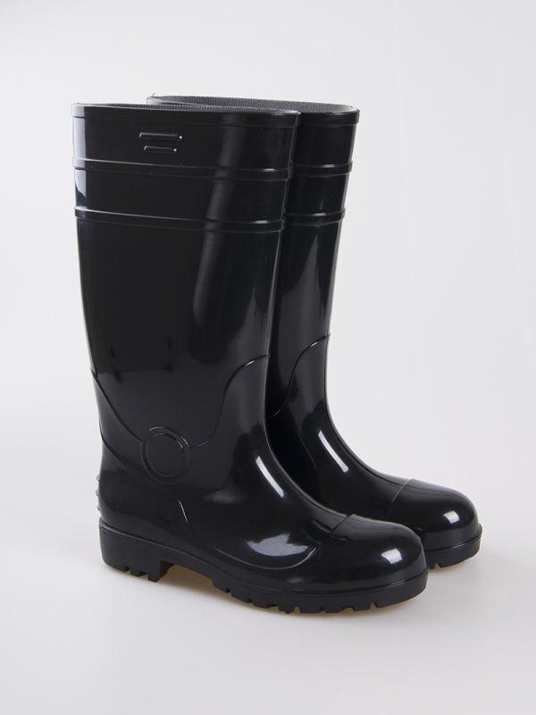 Black Economy Hi-Boots Steel Toe CT 10