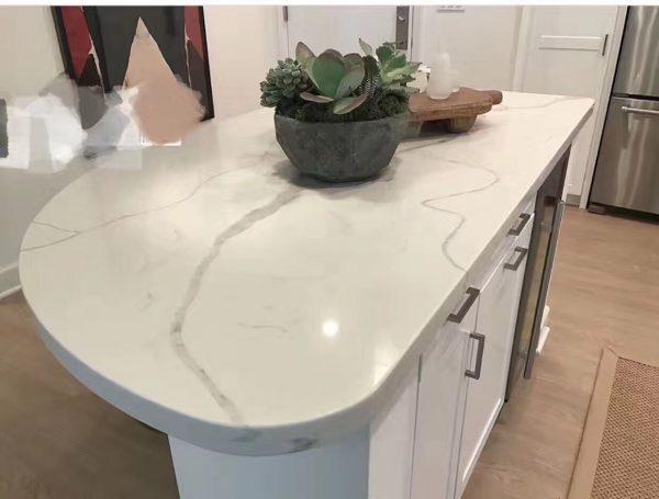 Quartziano Ultimate Countertop Surface  calacatta classic  quartz 558001