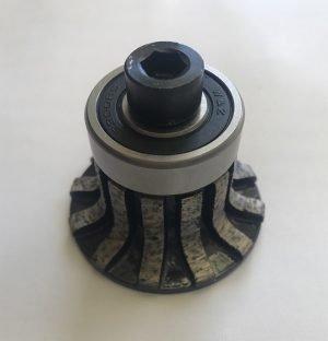 Granitali Edge Profile Diamond Router Bits Quarter Round 30mm POS-0