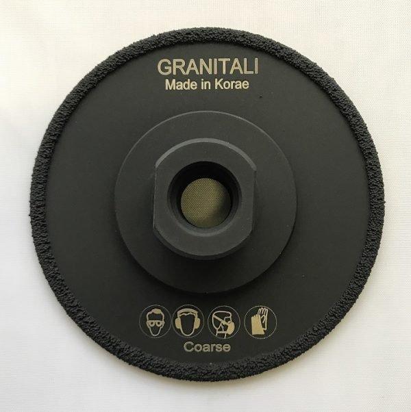 4  Inch Vacuum Brazed Grinding Cup Wheel Coarse
