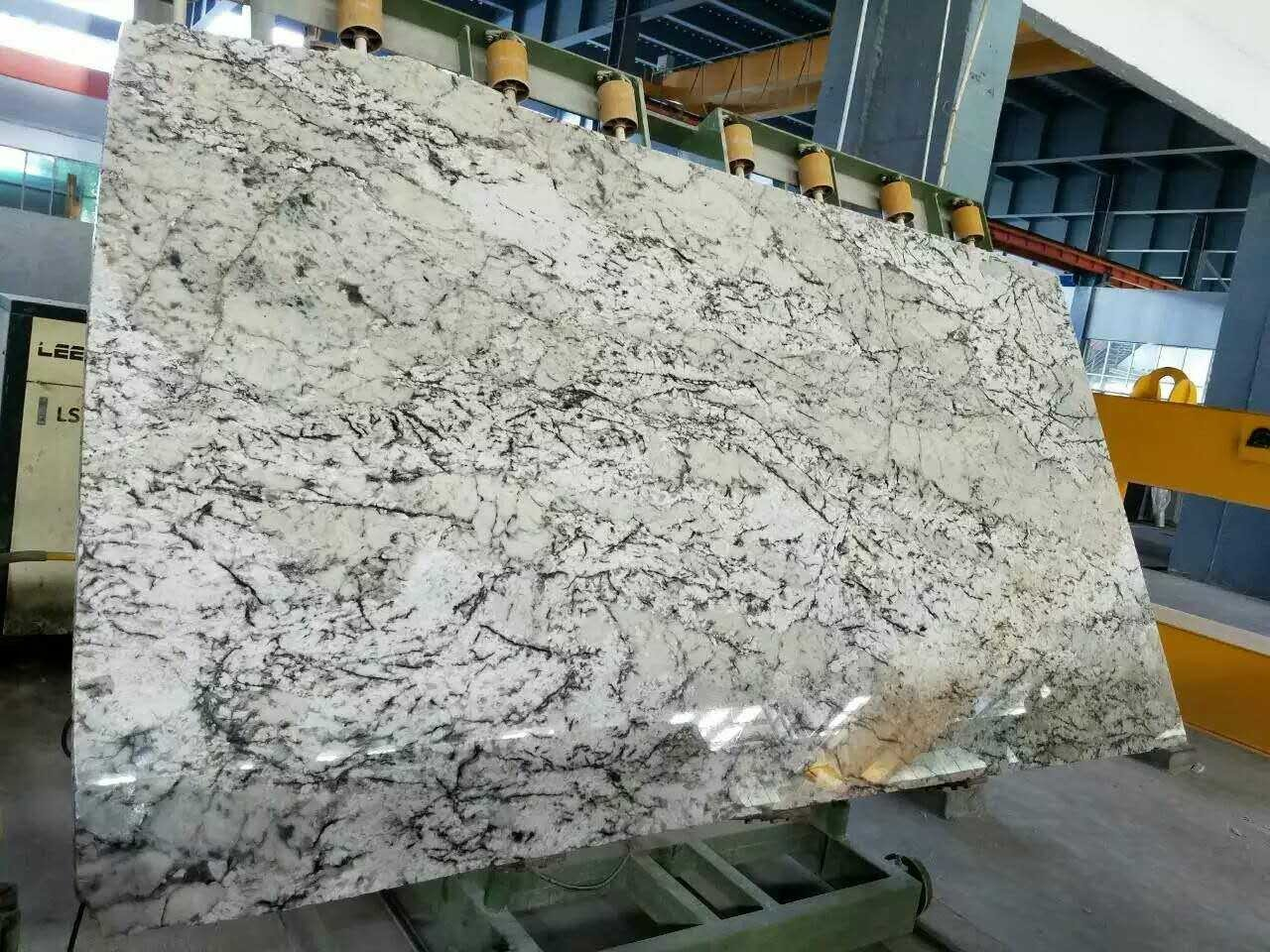 Ice White Granite Slab 3cm In stock