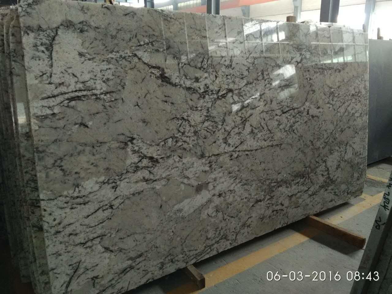 Ice White Granite Slab 3cm In stock