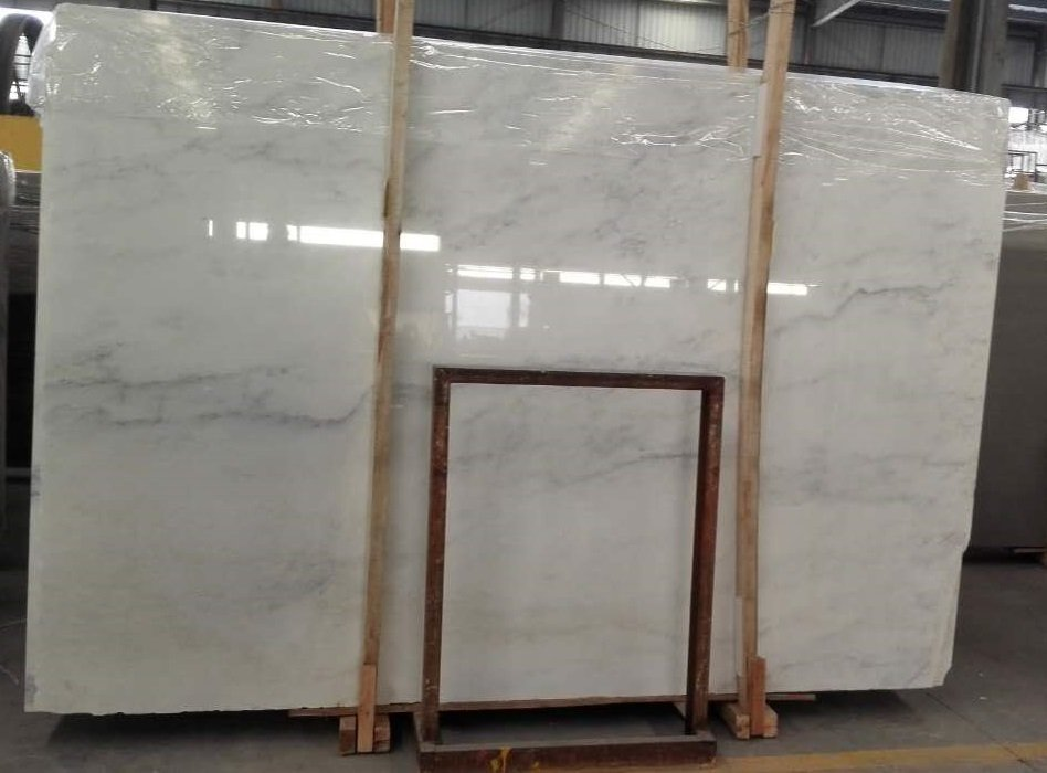 Premium Quality Bianca White Marble Slab 3cm and 2cm Available