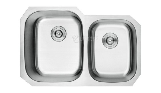 LOTTARE 800126 ADA Double Bowl Stainless Steel Kitchen Sink 60/40