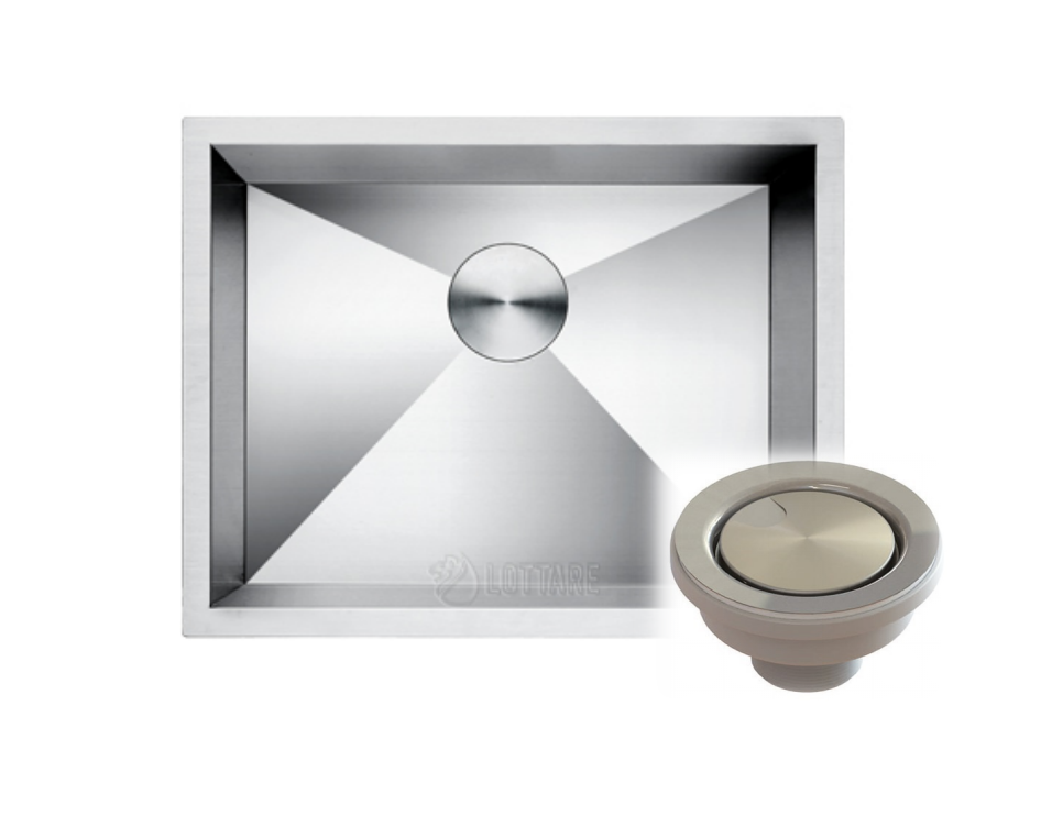 LOTTARE 600100 Stainless Steel Laundry Sink