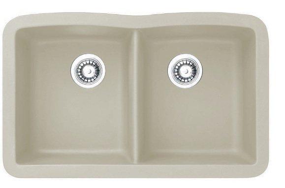 Lottare 700106 Double Bowl Composite Kitchen Sink Wheat