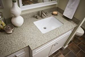 LOTTARE 800121 Rectangular Porcelain Bathroom Sink White