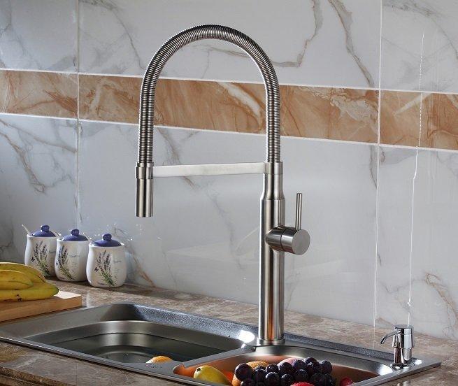 LOTTARE 800123 B&B Series Pull Down Kitchen Faucet