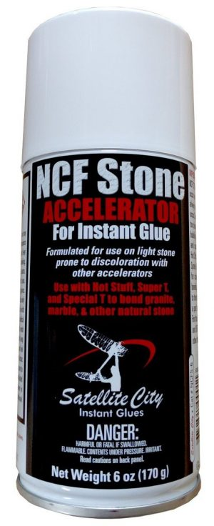 NCFS-6 NCF Stone 6oz CA Glue Accelerator for use with Natural Stone