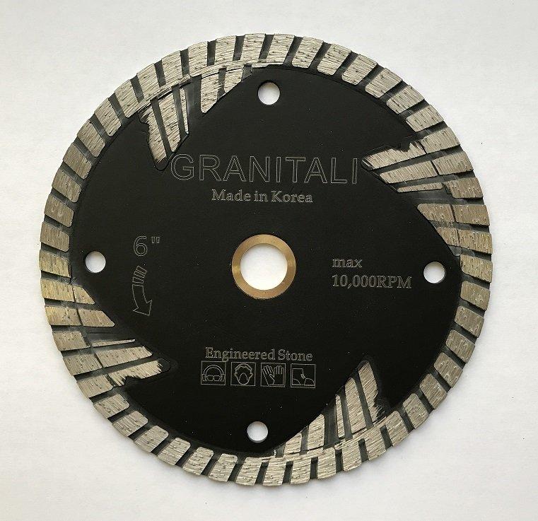 6 Inc Hurricane Engineered Stone Cutter/Blade