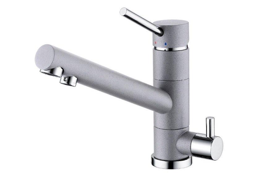 SFD720011GR  Kitchen/Bar Water Filter Faucet Gray Granite Swivel Spout