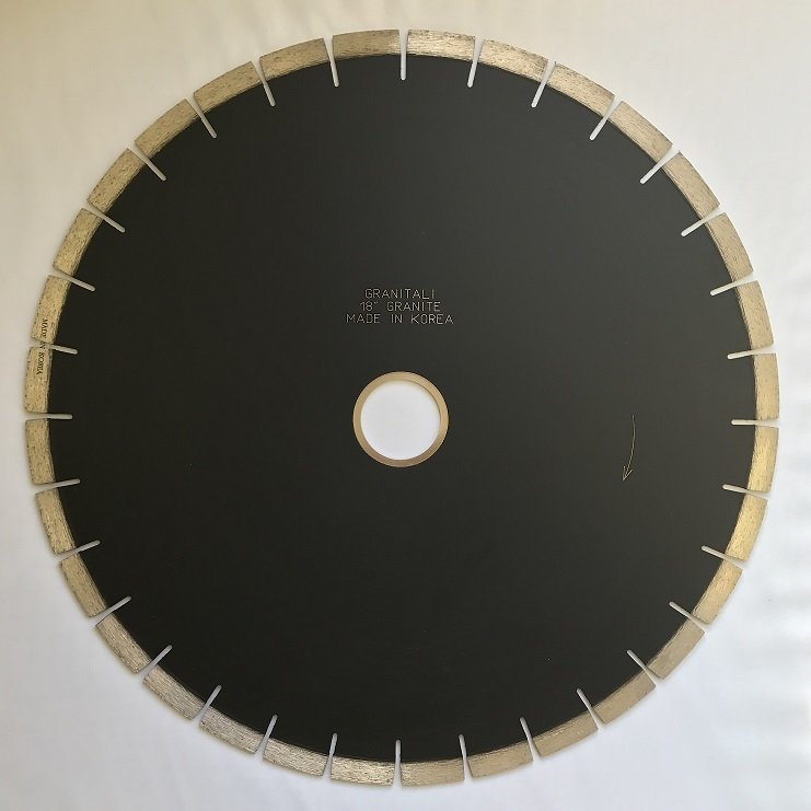Granitali 18  Inch Premium Bridge Saw Cutter/Blade Silent Blade