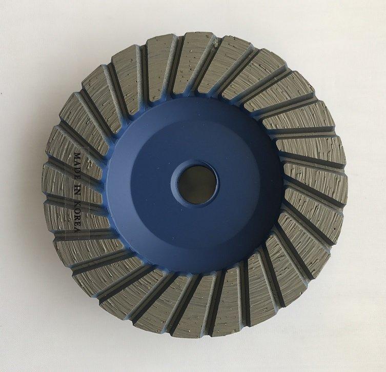 4 Inch Flat Turbo Rim Cup Wheel  Medium