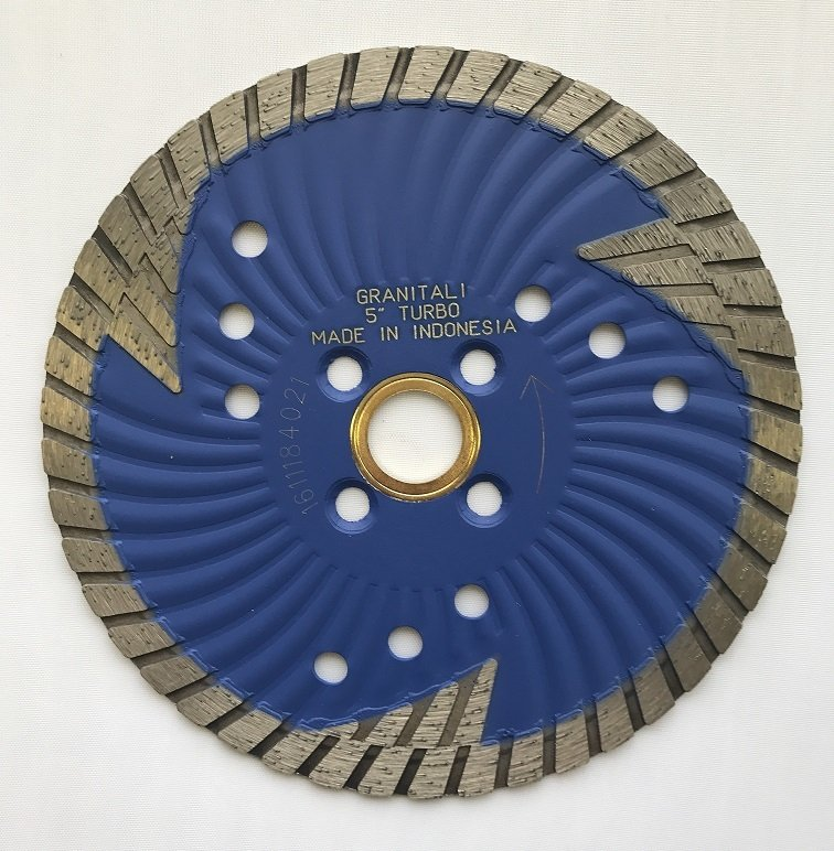 Granitali 5  Inch Tornado Wave Core Hurricane Turbo Cutter/Blade