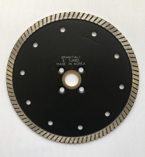 Granitali 5  Inch Premium Turbo Cutter/Blade