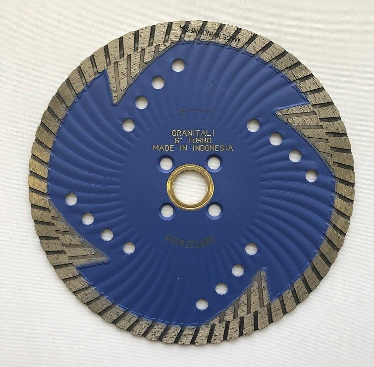 Granitali 6  Inch Tornado Wave Core Hurricane Turbo Cutter/Blade