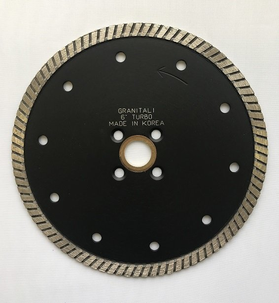 Granitali 6  Inch Premium Turbo Cutter/Blade