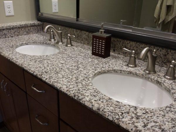 Lottare 800109 White Porcelain Bathroom Sink