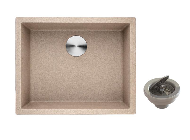 Lottare 700109GI Undermount Composite Granite Laundry Sink